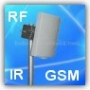 RF,GSM, IR,Bluetooth